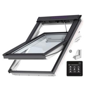 VELUX INTEGRA® Solar tuimelvenster GGU CK04 007030 vochtbestendig, veiligheidsbeglazing
