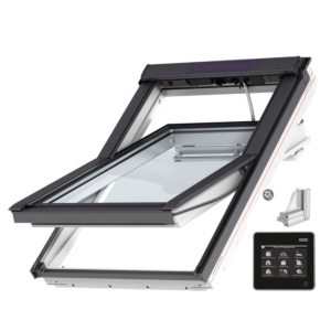 VELUX INTEGRA® Solar tuimelvenster GGU FK06 007030 vochtbestendig, veiligheidsbeglazing