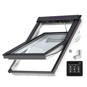 VELUX INTEGRA® Solar tuimelvenster GGU PK06 006021 vochtbestendig regengeluidsreducerend