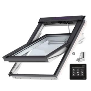 VELUX INTEGRA® Solar tuimelvenster GGU MK10 006630 vochtbestendig triple beglazing
