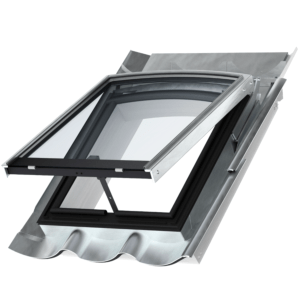 VELUX GVR 3K2 1359PS dakraam blank/zink