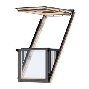 VELUX GDL SK19 3066L Cabrio® balkonvenster