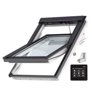 VELUX INTEGRA® Solar tuimelvenster GGU PK10 007030 vochtbestendig, veiligheidsbeglazing