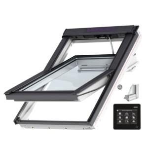 VELUX INTEGRA® Solar tuimelvenster GGU FK04 007030 vochtbestendig, veiligheidsbeglazing
