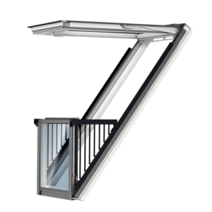 VELUX Cabrio balkonvenster single uitvoering