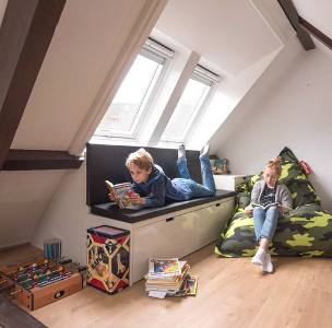 Velux dakkapel basis kinderkamer