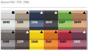 VELUX FHC plissé kleuren