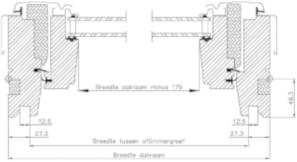 VELUX Inbouwmaten GGL (voorbeeld)