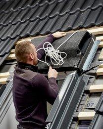 Velux smart ventilatie montage stap 2 van 5
