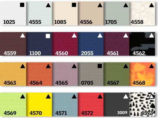 VELUX verduisterend rolgordijn DKL kleuren overzicht